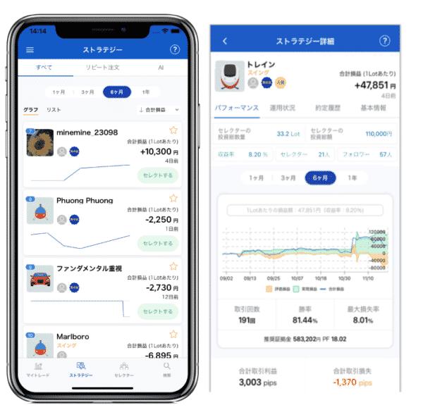 システムトレーダーアプリ
