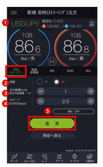 DMM FX デモアプリの使い方