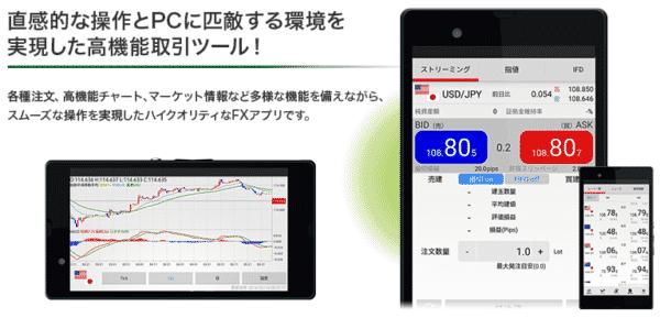 アプリ版:外為ジャパンFX