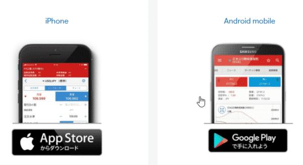 トレーディングアプリ