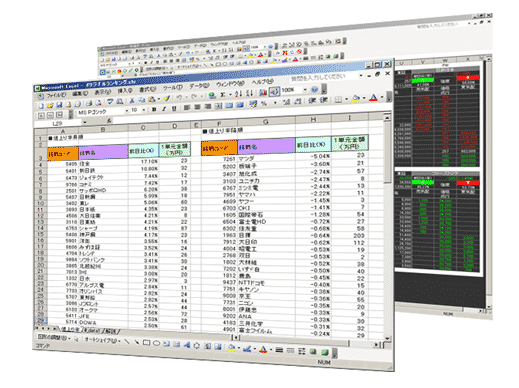 Excel版:RSS(システムトレード)