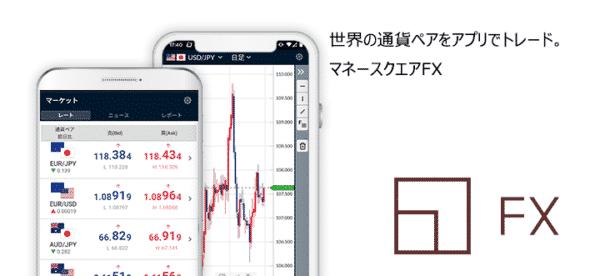 マネースクエアFXアプリ
